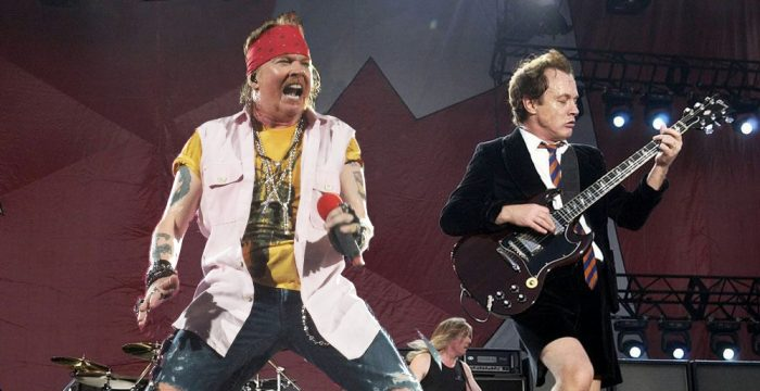 AC/DC - Hear Axl Rose rehearsing with AC/DC