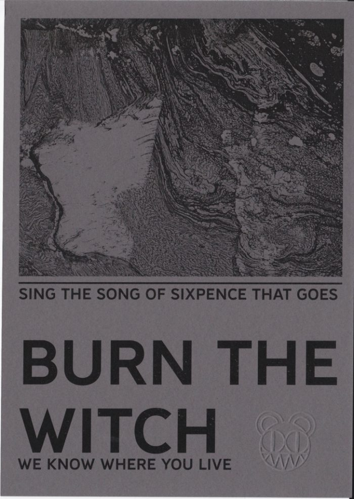 Radiohead - Burn the witch postcard